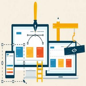 Schémas représentant un site web consulté avec plusieurs appareils